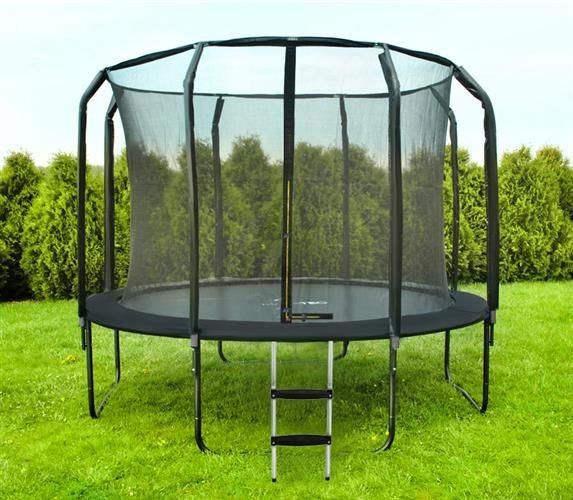 trampoline 305 cm internal 10 ft max user weight 150 kg robust design resistant to. Black Bedroom Furniture Sets. Home Design Ideas