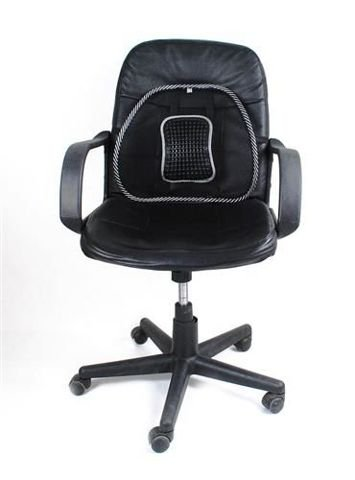 CORRECTIVE CUSHION FOR SEAT • excellent for maintaining proper posture • perfectly matches the shape of the back • improves seat comfort • 38 x 38.5 cm • #495