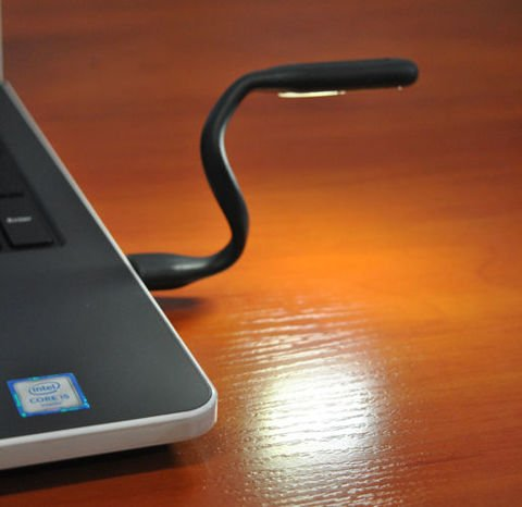 USB Silicone Lamp great for your notebook - Flexible LED Light