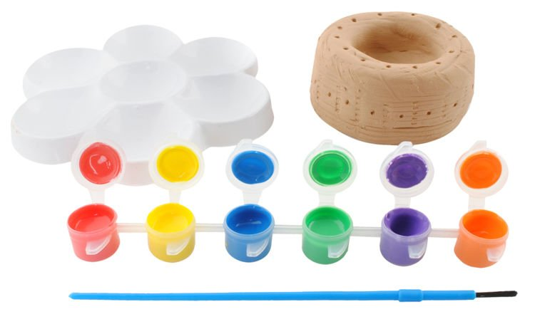Kinder Töpferstudio Drehscheibe Töpfereiwerkstatt Ton, Farben und ...