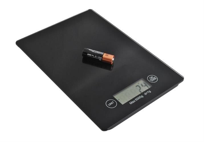 Waage Elektronische Küchenwaage Digital-Waage 5KG 5000g/1g ...