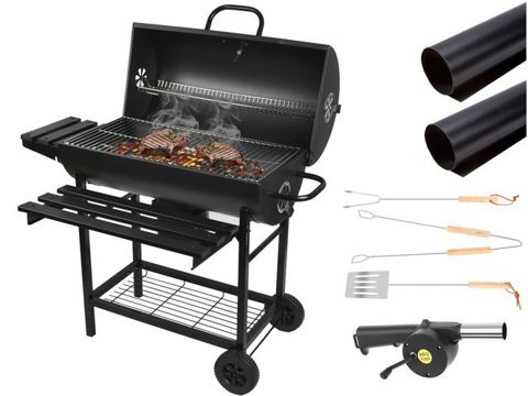 Barbeque Charcoal Grill Cooking Garden  Outdoor Heat Indicator 8057