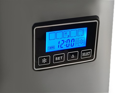 Ice Maker Machine, Portable Counter Top Electric Ice Machine, Silent & Easy Operation No Plumbing Required Cooks Professional 5536