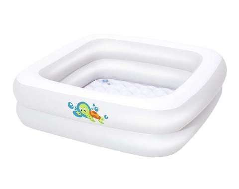 BESTWAY 51116 Baby paddling pool baby bath square 9877