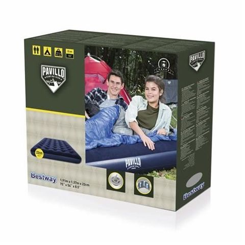 BESTWAY 67002 Pavillo inflatable double air bed for two people 191x137x22 cm 9905