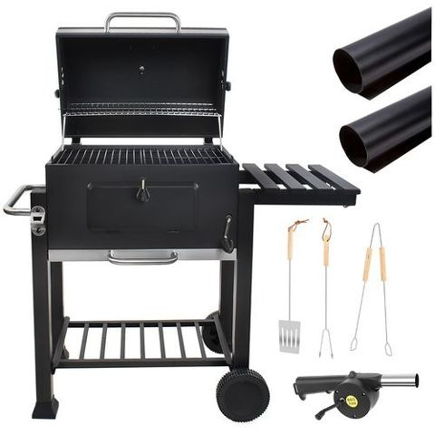 Barbecue Grill BBQ Charcoal BBQ Charcoal Barbecue Smoker Grill # 5011
