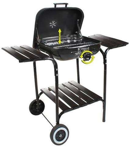 Barbeque XL Barbecue grill BBQ Grill Barbeque Charcoal grill shelf # 5423