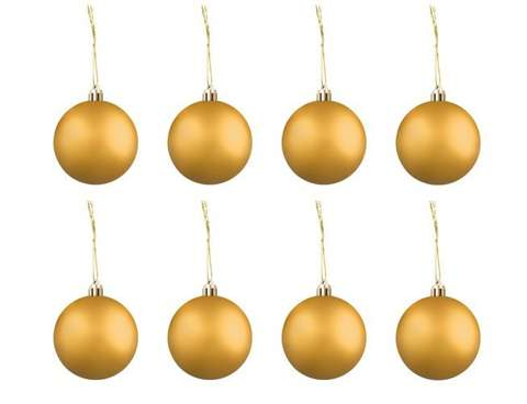 Christmas balls set 100 pcs + golden star