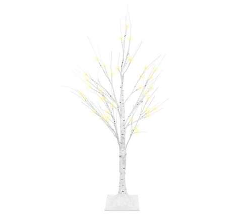 Decorative birch tree 90cm - 24V LED lamps