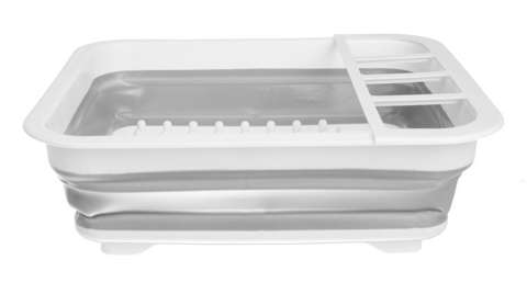 Folding dish dryer - silicone