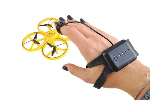 Hand Controlled Drone LED Levitating Mini Ufo Shield 9506