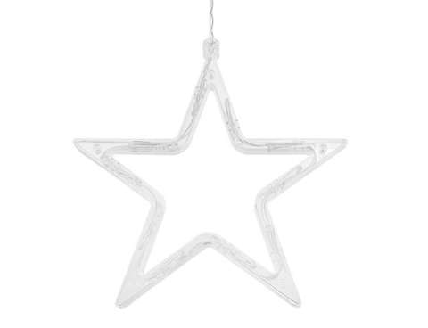 LED light curtain light chain 138 LED Christmas stars 11316