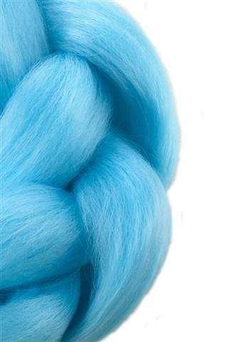 Synthetic hair braids - blue