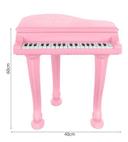 Toy pink piano
