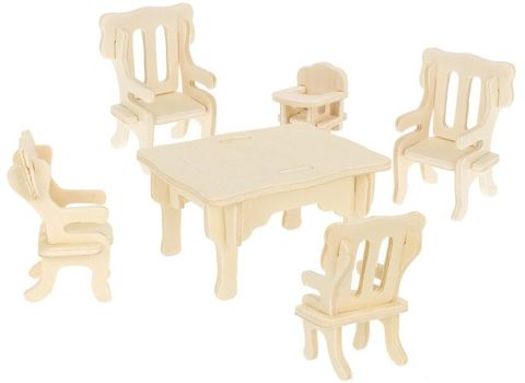 Wooden Furniture for the Dollhouse 34 Furniture DIY 9423