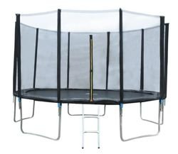Garden Trampoline 366cm 12ft with Net - Great fot outdoor fun! Solid construction! #3252