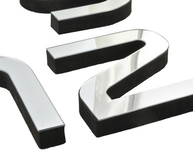 Diy wanduhr 3d spiegel design wandtattoo wandschmuck wandaufkleber silber 4785 kategorien - Wandschmuck silber ...