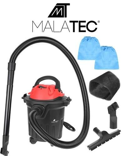MT MALATEC Industriestaubsauger Nass-Trockensauger beutellos 15L 1200W 9070