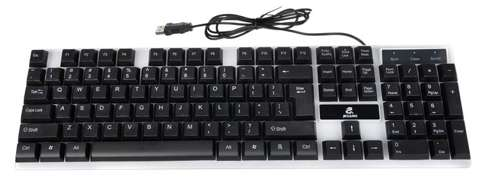 K12540 LED-Gaming-Tastatur