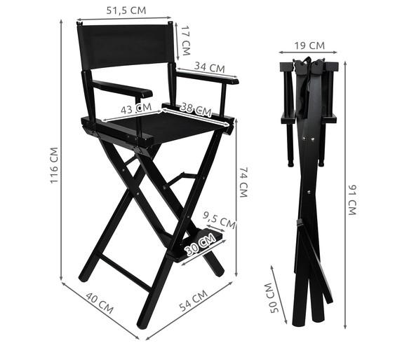 Krzesło do makijażu drewniane | maxy.pl
