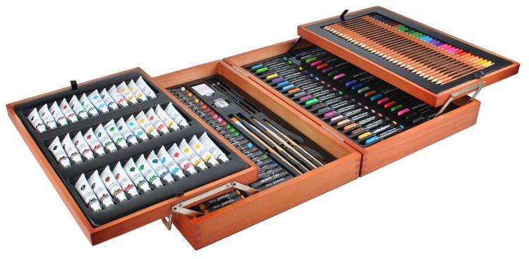Zaawansowane Zestaw do malowania 174szt w walizce   maxy.pl GS42